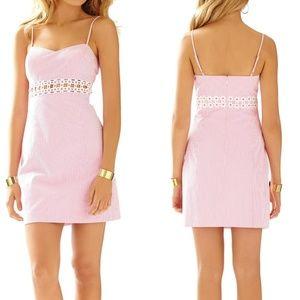 Lilly Pulitzer Sheena Seersucker Mini Dress Size 2